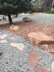 Decorative Rock Xeriscape