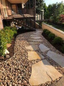 Flagstone Path with Decor