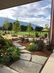 Nature Playground Flagstone Pathway