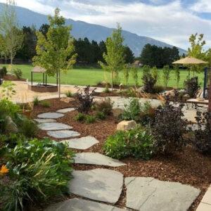 Nature Playground | Flagstone Path